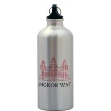 Angkor Wat Silver Water Bottle